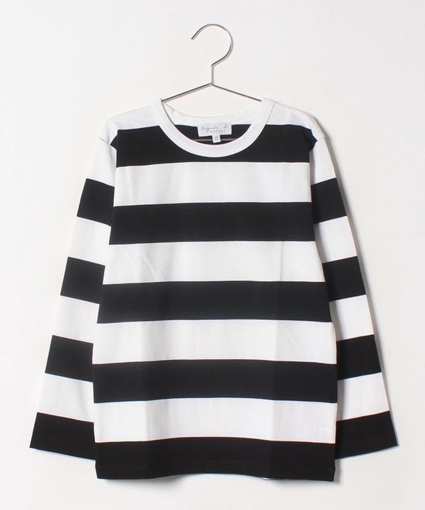 J019 E TS ボーダーTシャツ