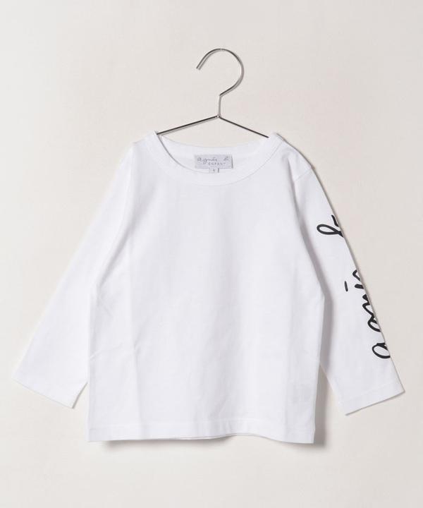 S035 E TS キッズ ロゴTシャツ