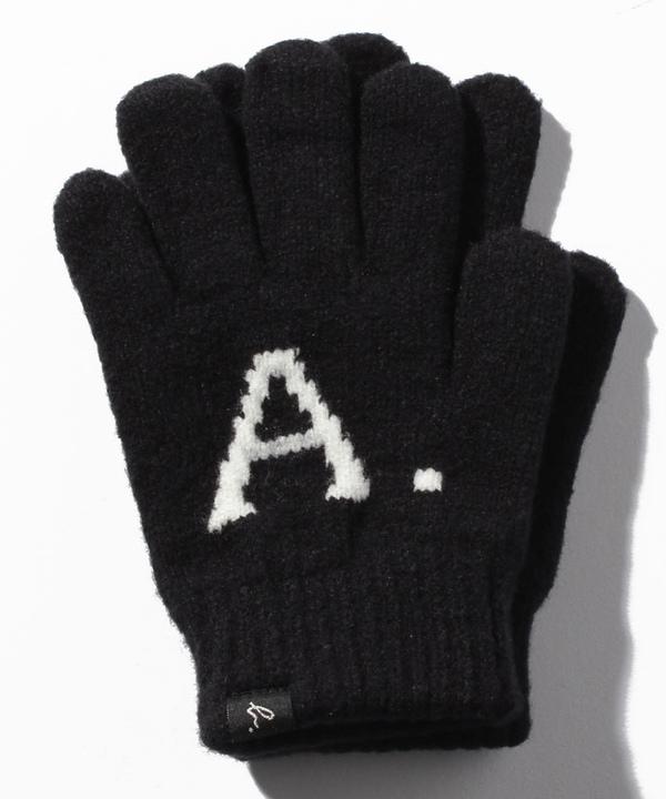 AB38 E GANTS キッズ A.B.ロゴ手袋グローブ