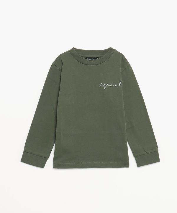 K333 E TS キッズ ロゴTシャツ
