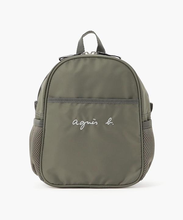 GL11 E BAG ロゴ刺繍ミニリュックサック