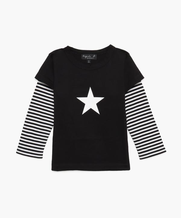 ST69 E TS キッズ エトワール ロングTシャツ