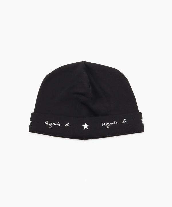 AA64 E BONNET ロゴ&エトワール帽子