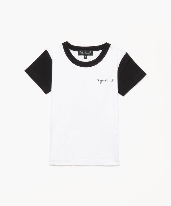S179 E TS キッズ ロゴTシャツ