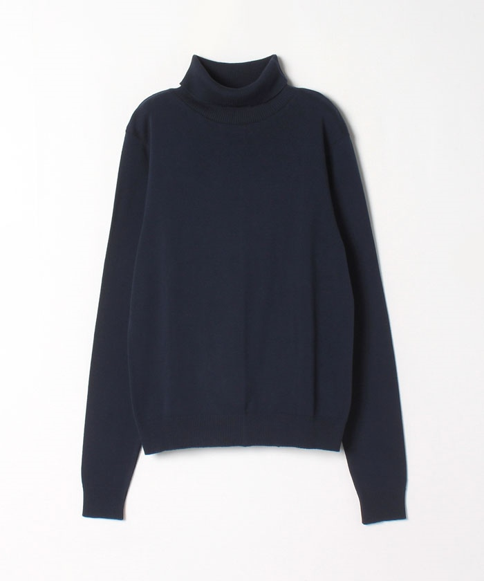 【Outlet】J155 TS コットンタートルネックカットソー
