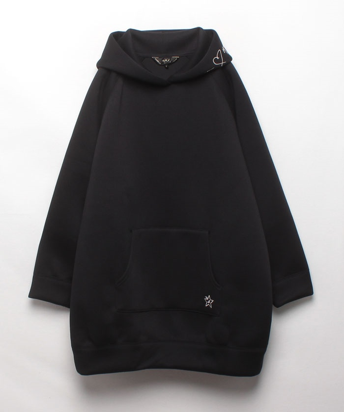 【Outlet】WP64 ROBE メッセージロングパーカー