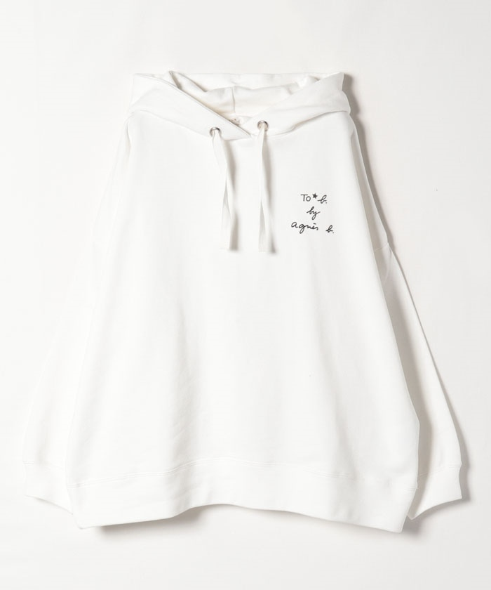 【Outlet】WQ08 HOODIE ロゴパーカー