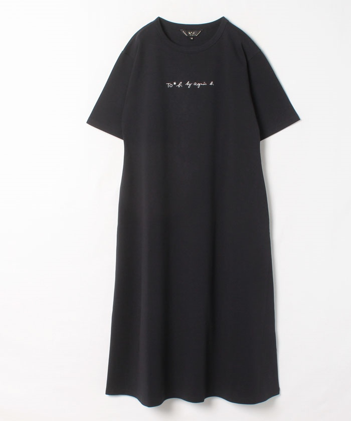 【Outlet】WR26 ROBE  ロゴワンピース