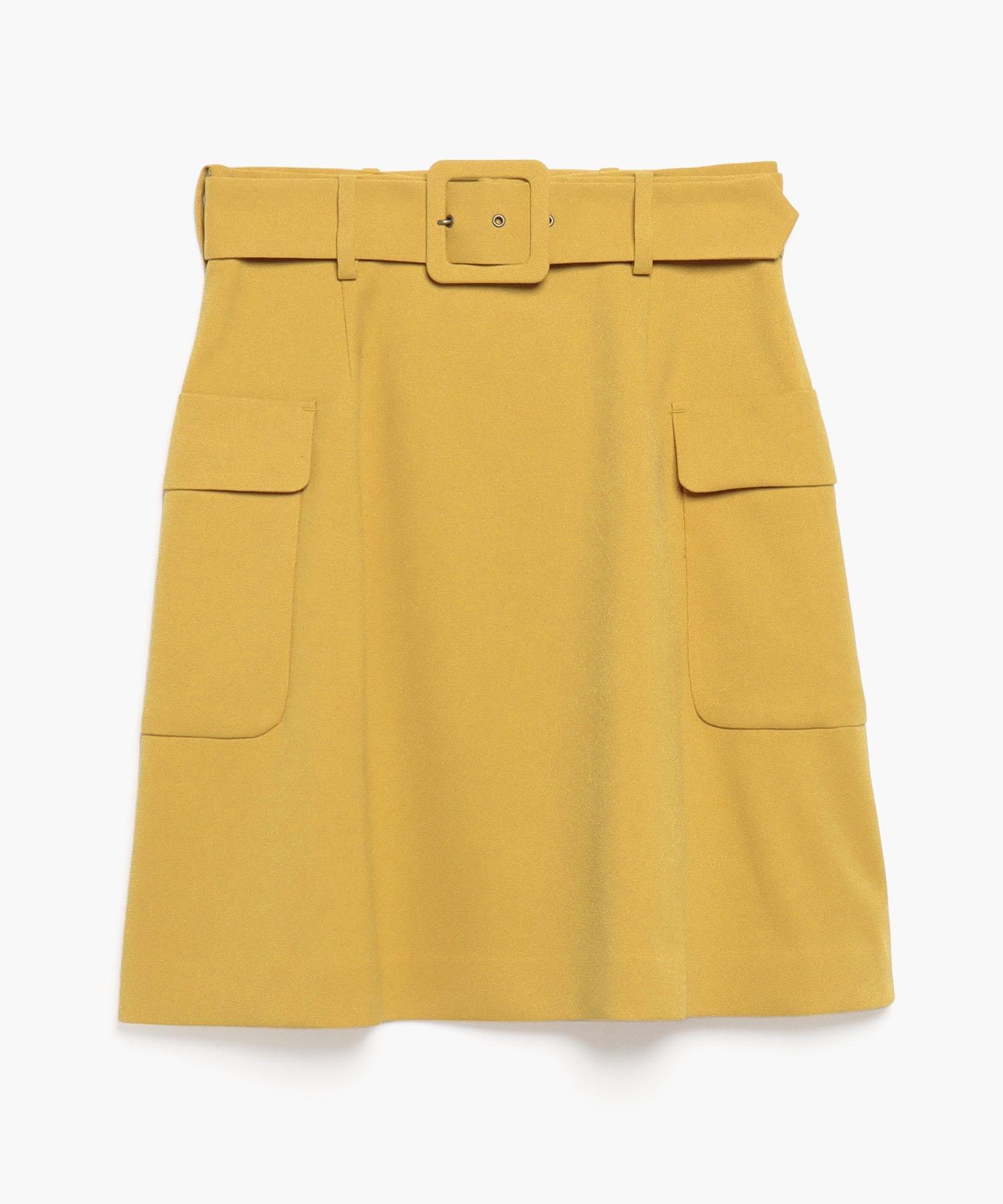 WQ06 JUPE フラップポケットミニスカート