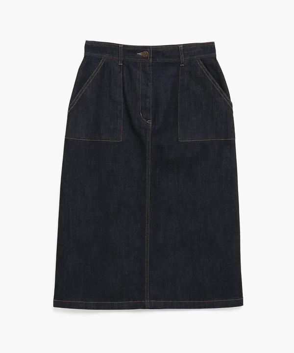 WG51 JUPE デニムタイトスカート