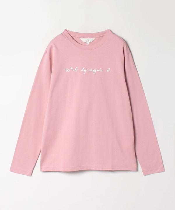 WM40 TS ボーイズロングロゴTシャツ