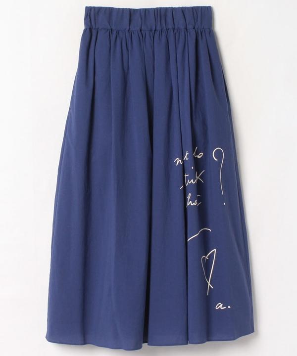 WP24 JUPE メッセージスカート