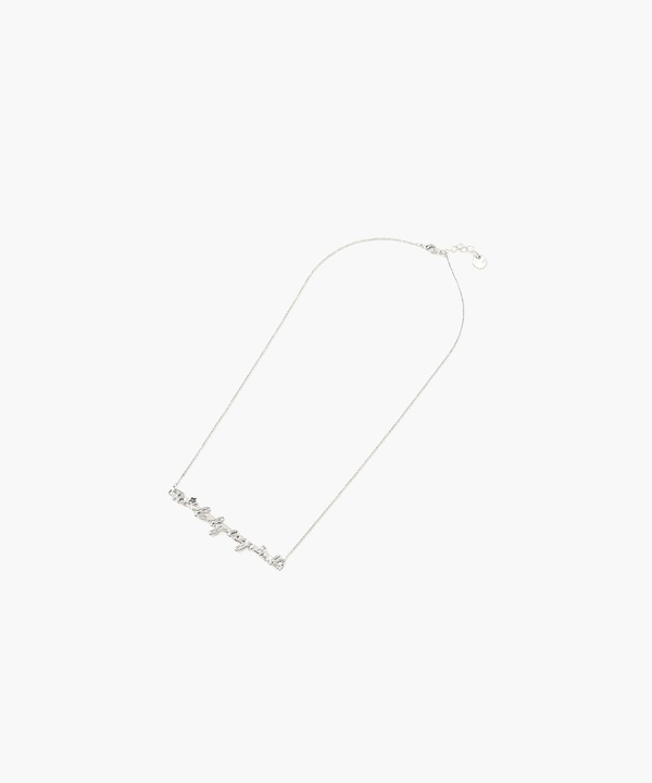 WQ29 NECKLACE ロゴネックレス