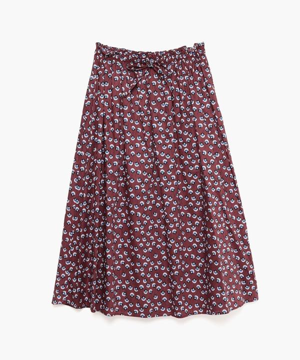 WQ05 JUPE レトロフラワースカート