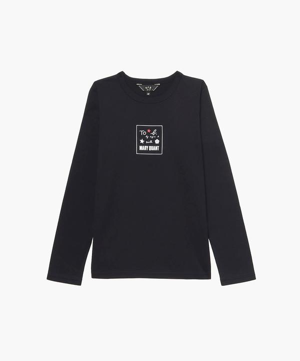 WM40 LONG SLEEVE TS MARY QUANTコラボロングスリーブTシャツ