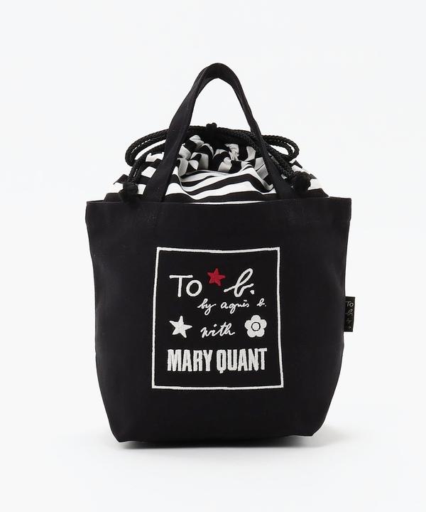 WR56 MINI TOTE BAG MARY QUANTコラボ ミニトート