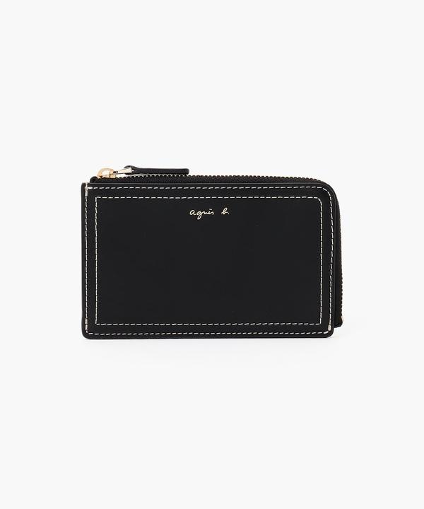 PAW08-04 ジップ付きカードケース