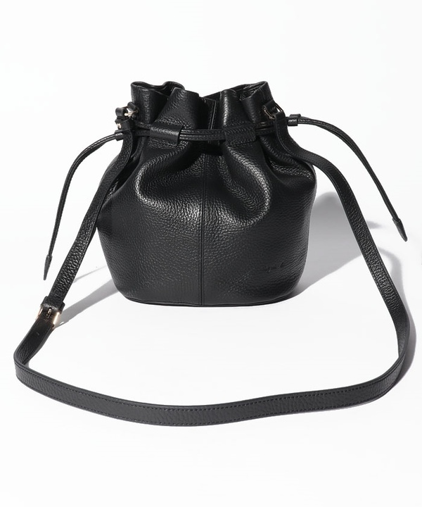 QAS03-01 CHARLOTTE 巾着ミニショルダーバッグ