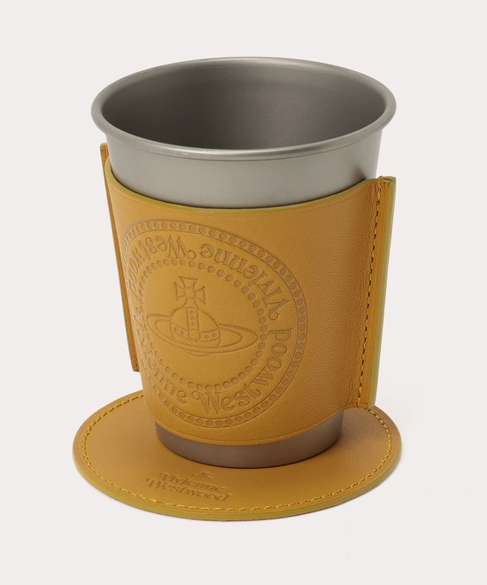 BRASS COIN スリーブ・コースター付ステンレスカップ