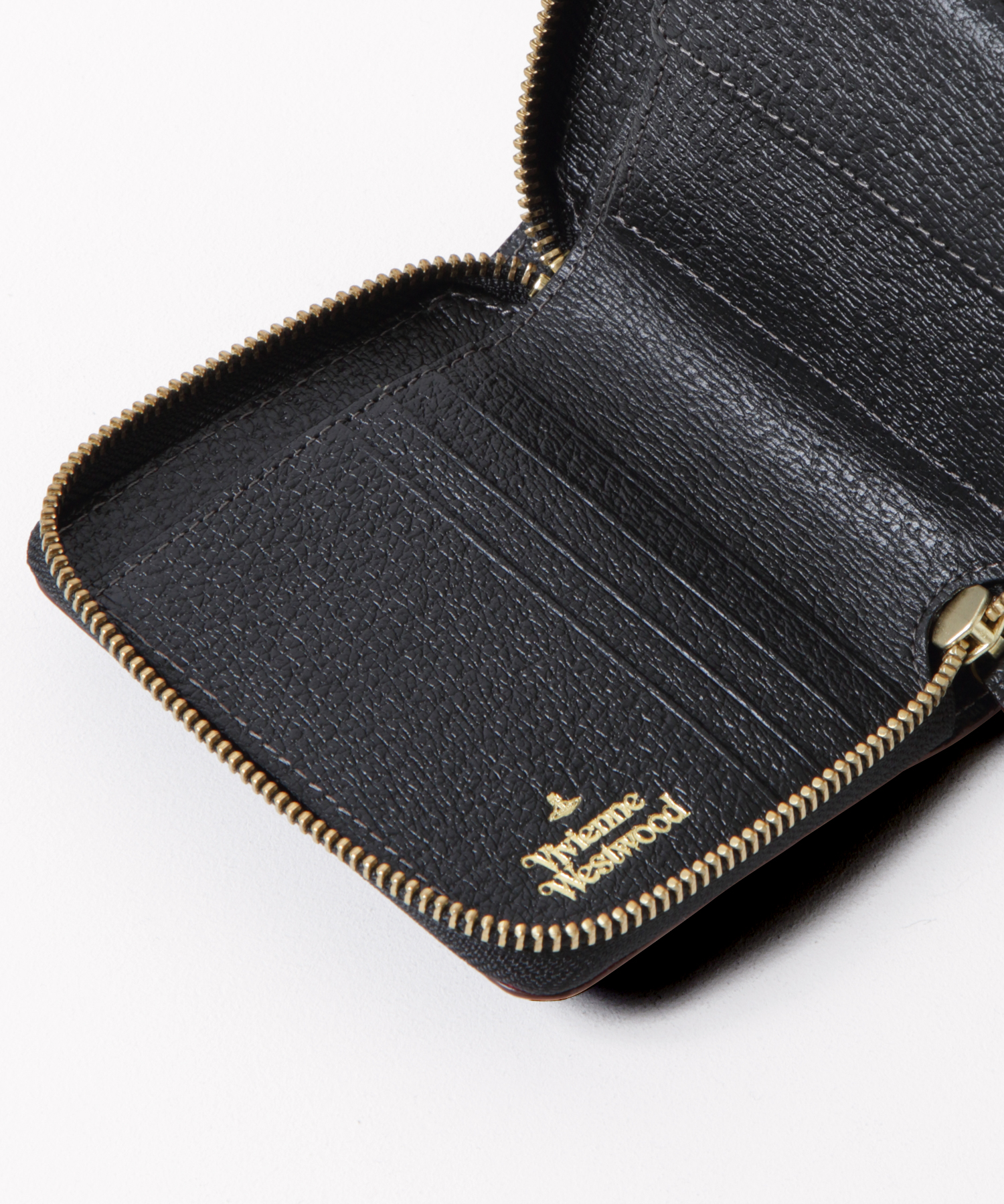 EXECUTIVE ラウンドファスナー二つ折り財布