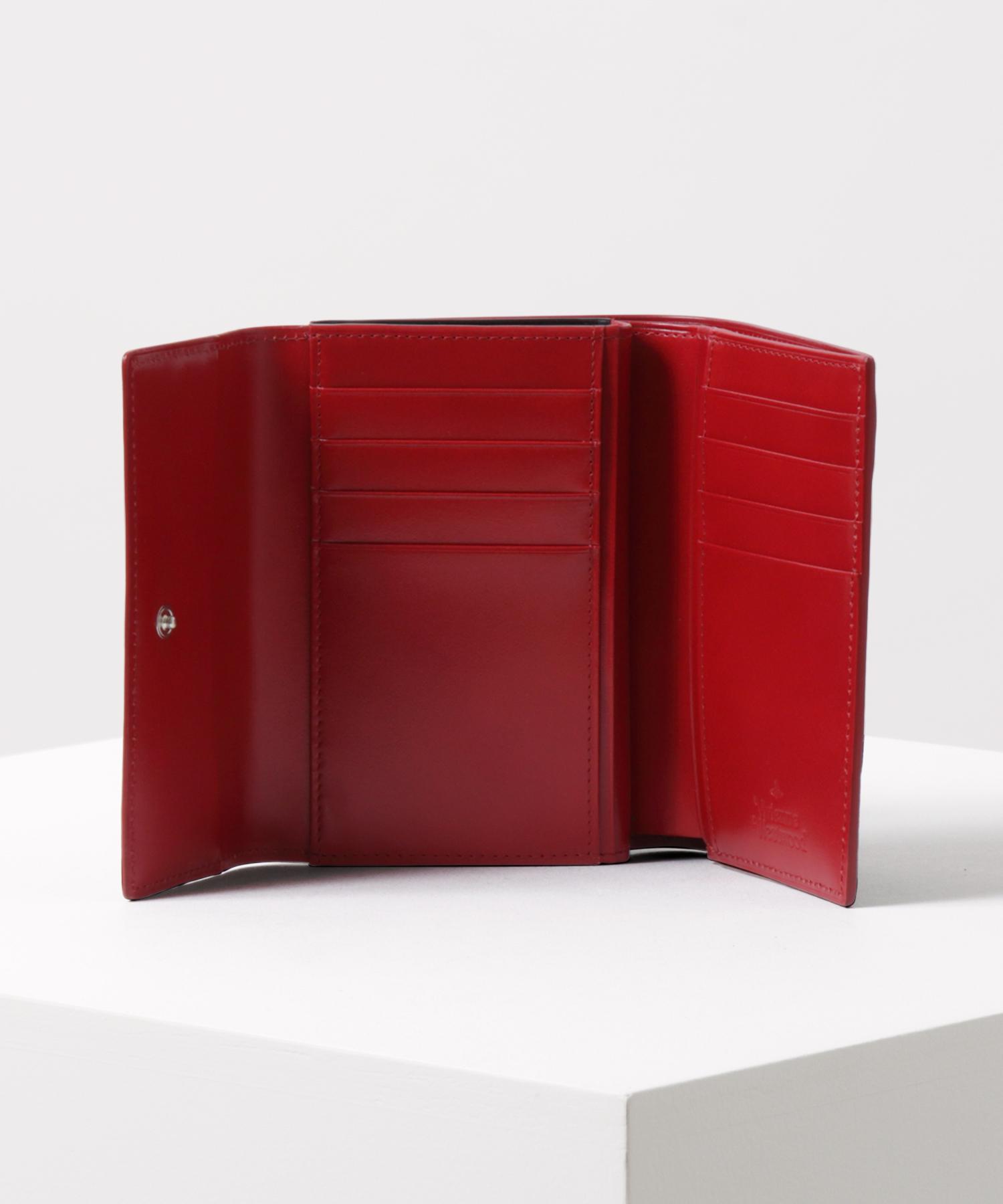 SIMPLE TINY ORB 口金二つ折り財布
