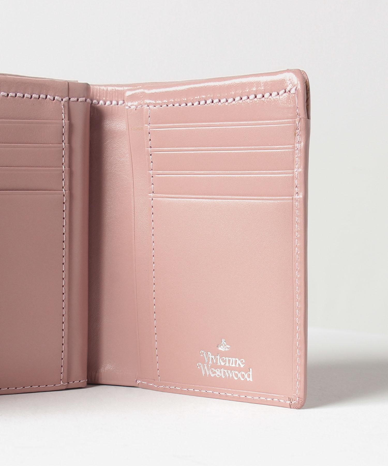 ヴィンテージ WATER ORB 口金二つ折り財布
