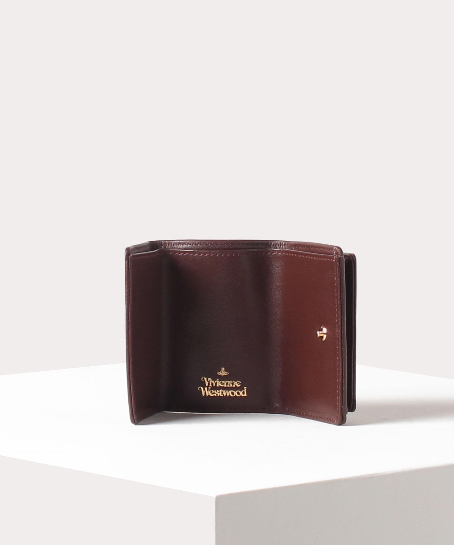 ヴィンテージ WATER ORB 三つ折り財布