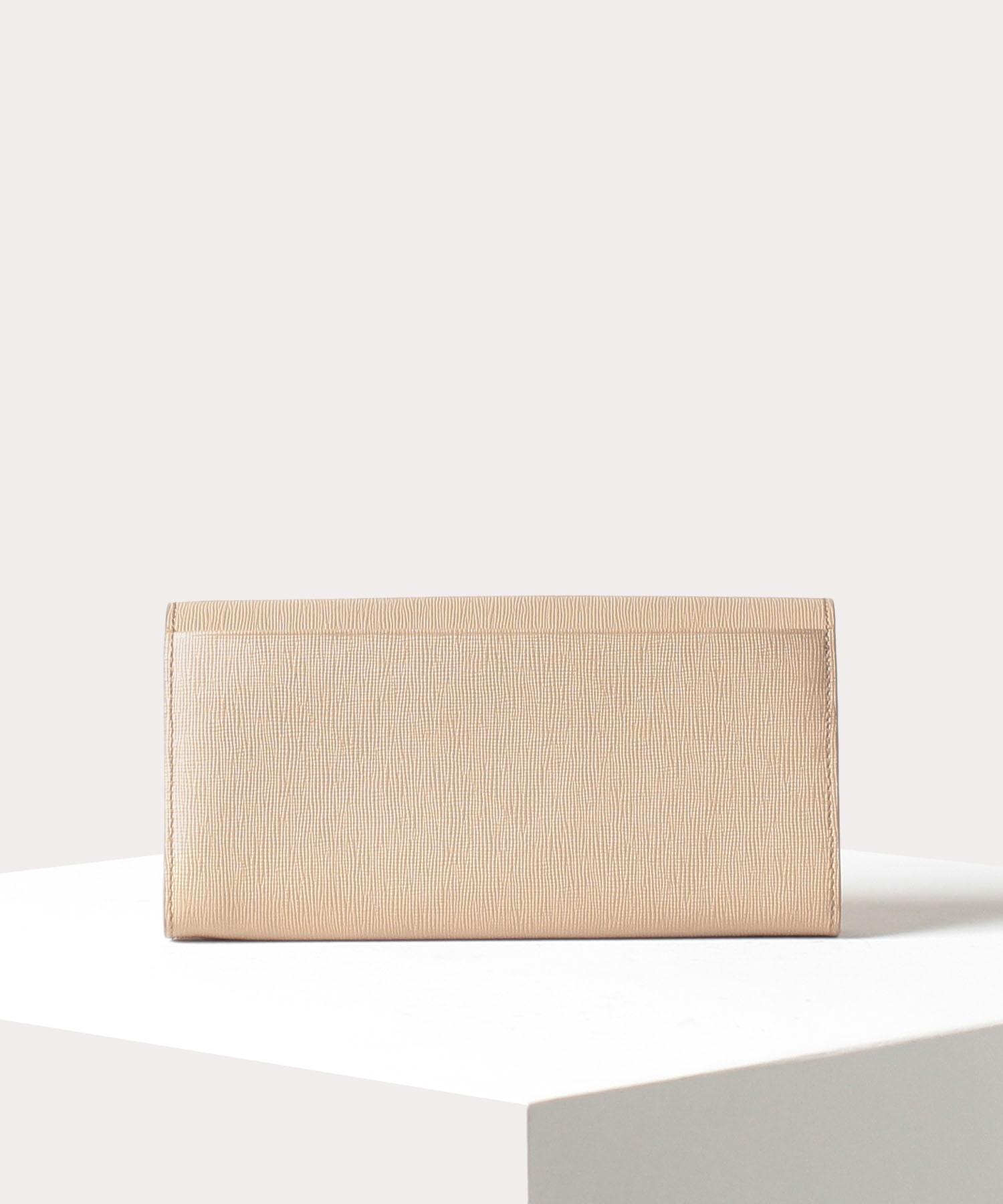 メタルフレーム 長財布