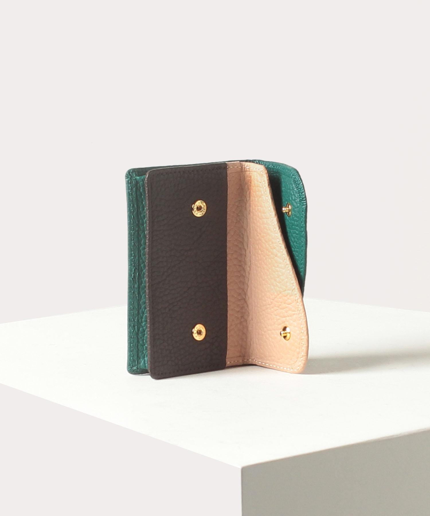 ダブルフラップ カードケース