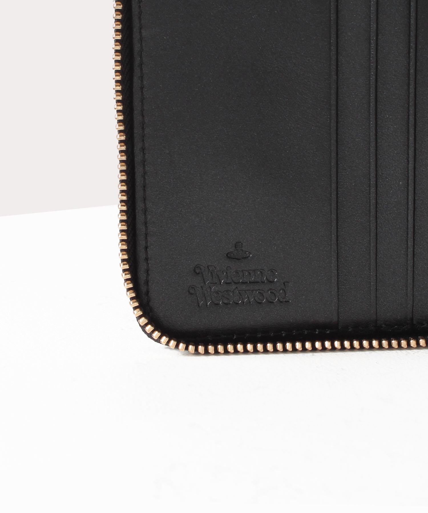 オンラインショップ限定 OVAL ORB ラウンドファスナー二つ折り財布