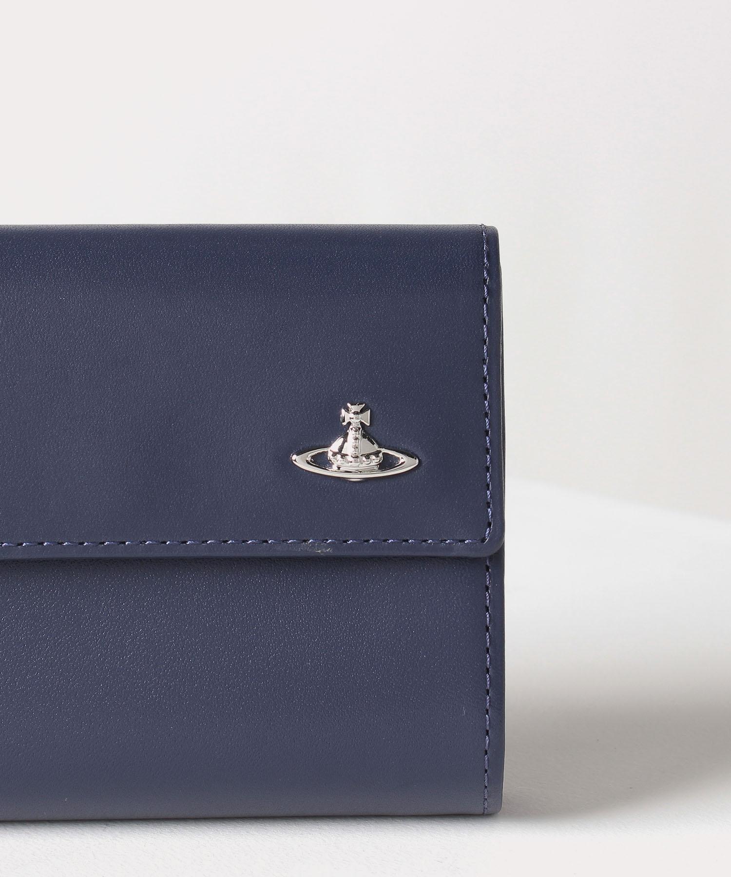 オンラインショップ限定カラー ヴィンテージ WATER ORB 口金二つ折り財布
