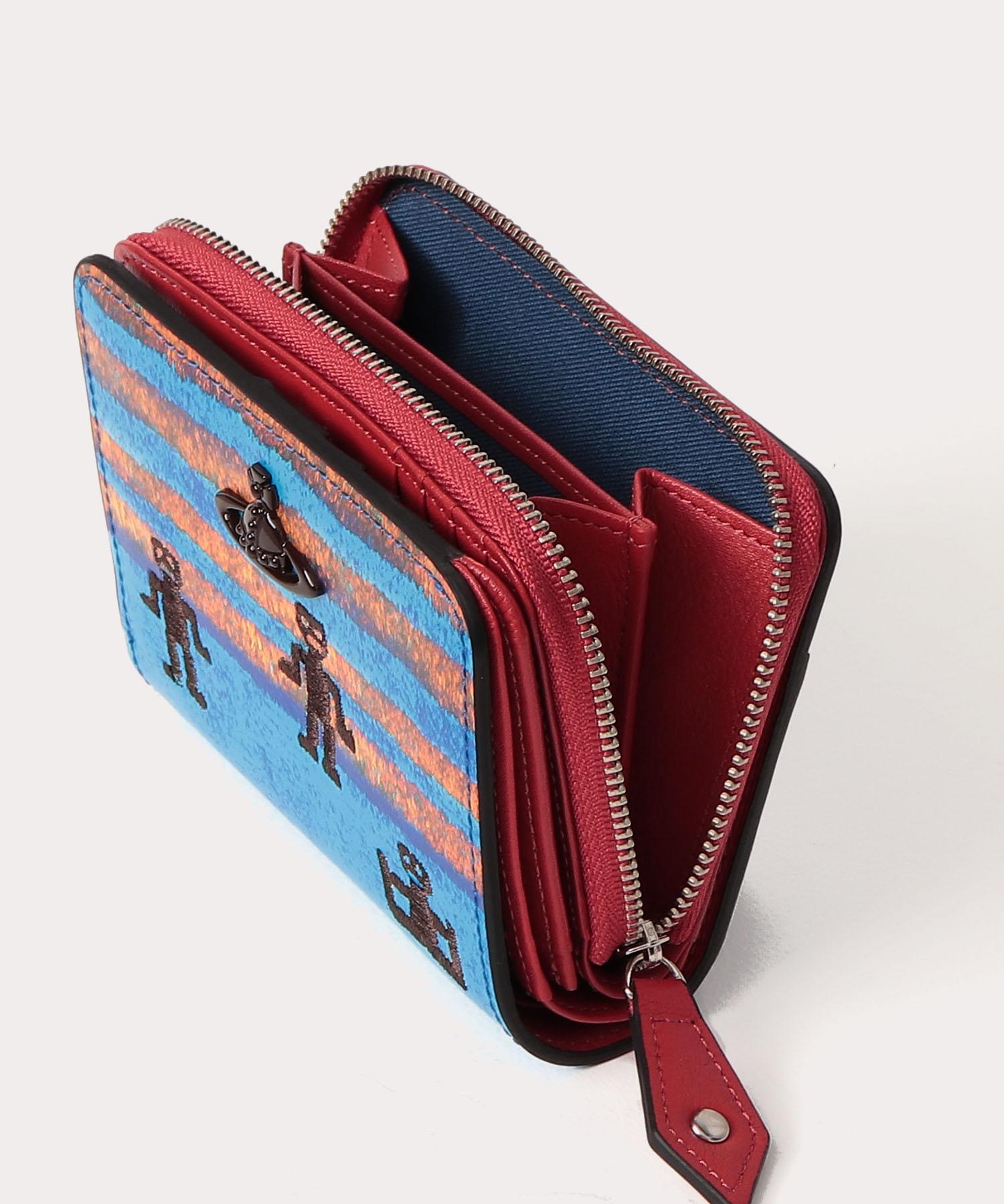 フェザーマン ラウンドファスナー二つ折り財布