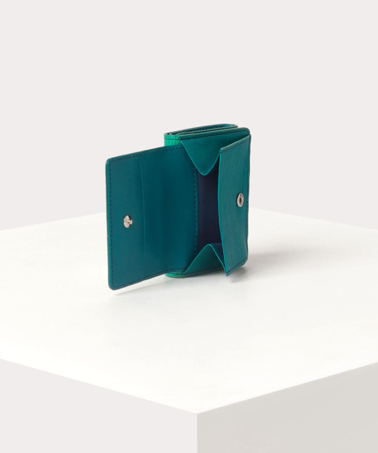 グラデーション 三つ折り財布