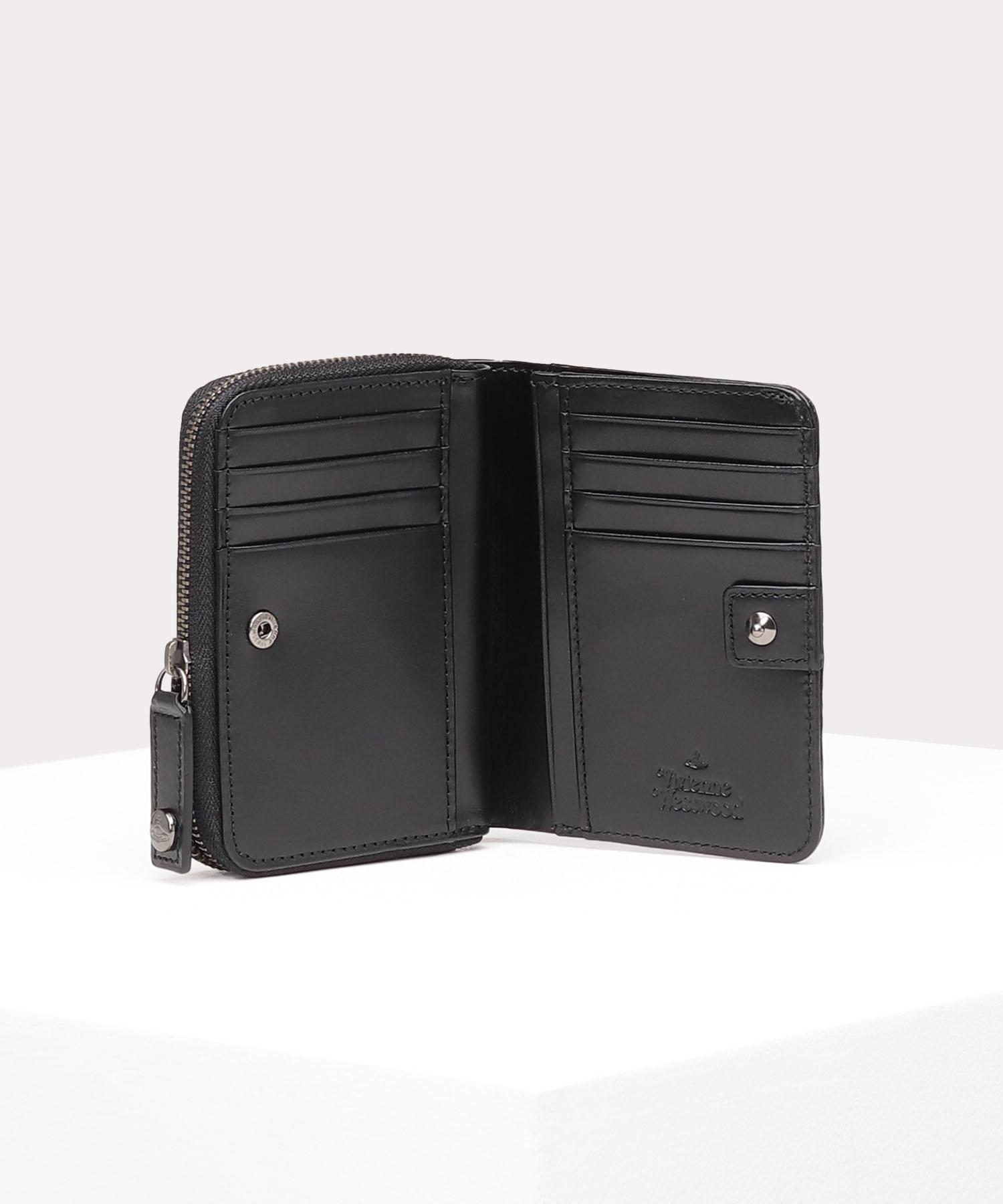 パターンORB ラウンドファスナー二つ折り財布
