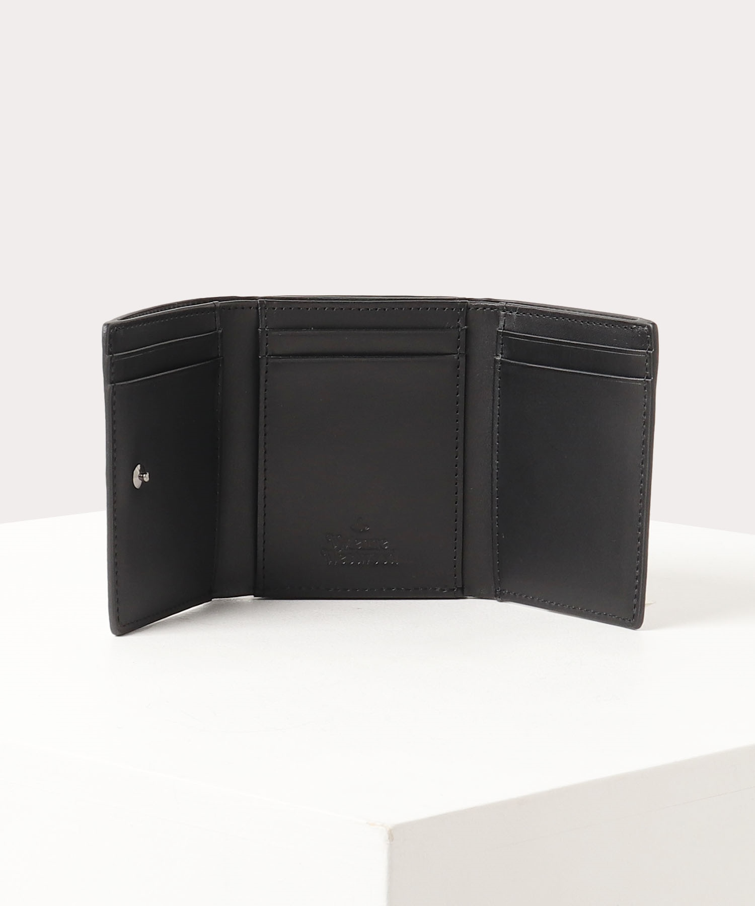 レオパード 口金三つ折り財布