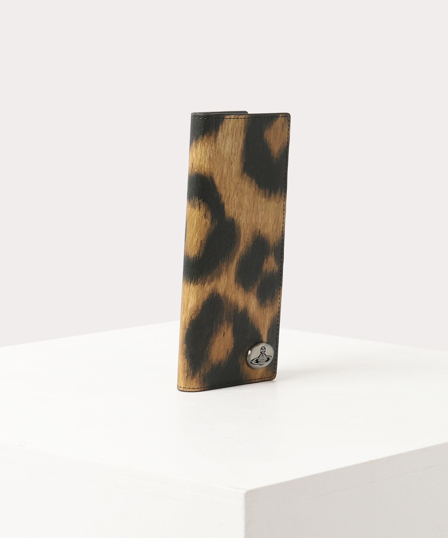 レオパード 縦型カードケース