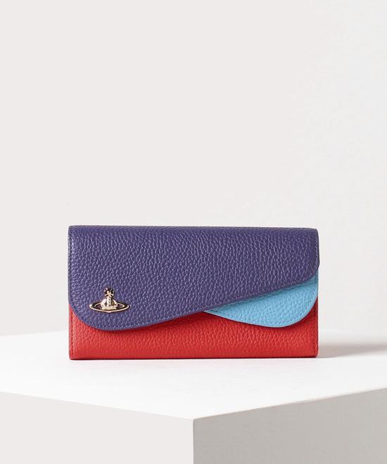 ダブルフラップ 長財布