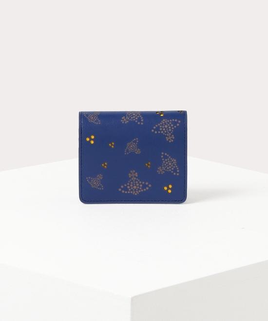 トリプルポルカドット 二つ折り財布