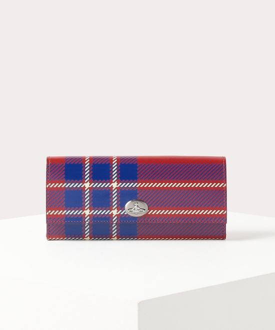 タータン 長財布