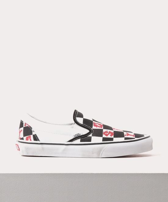 CHECKERBOARD SLIP‐ON