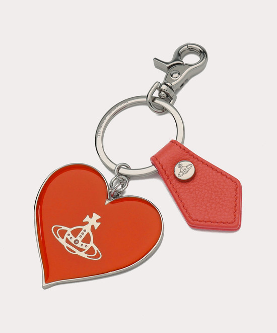 WINDSOR MIRROR HEART キーホルダー