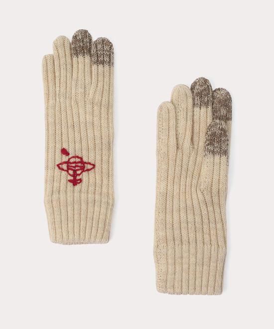 CHUNKY ニット手袋