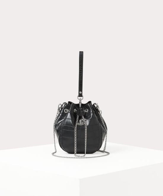 JOHANNA クロコバケットバッグ