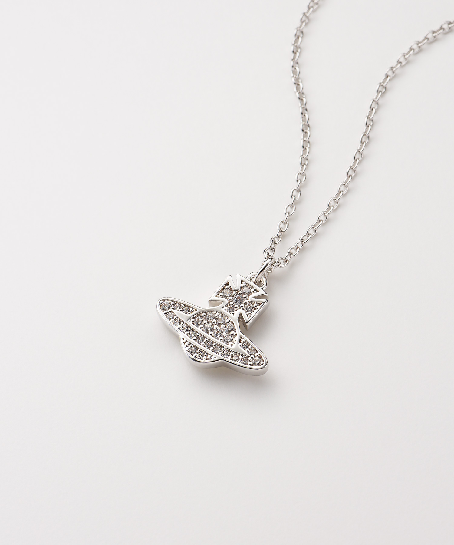ROMINA PAVE ORB ネックレス