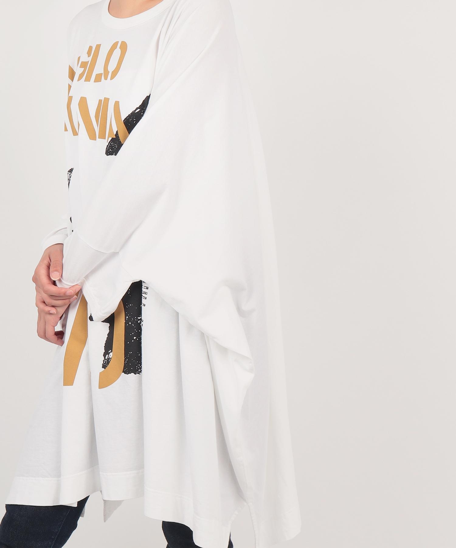 アロープリント ビッグTシャツ