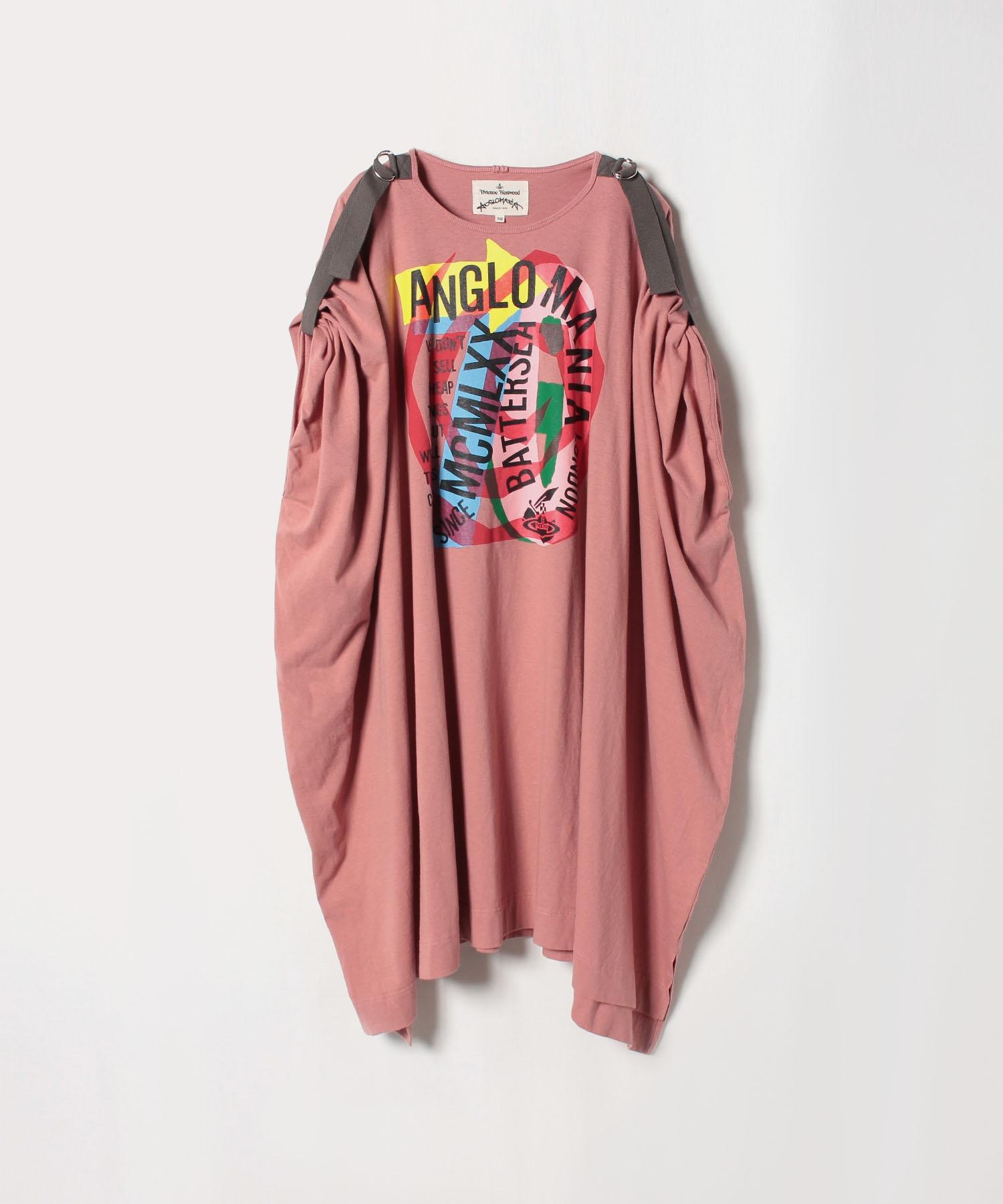 スパイラルANGLOMANIA70 ビッグTシャツワンピース