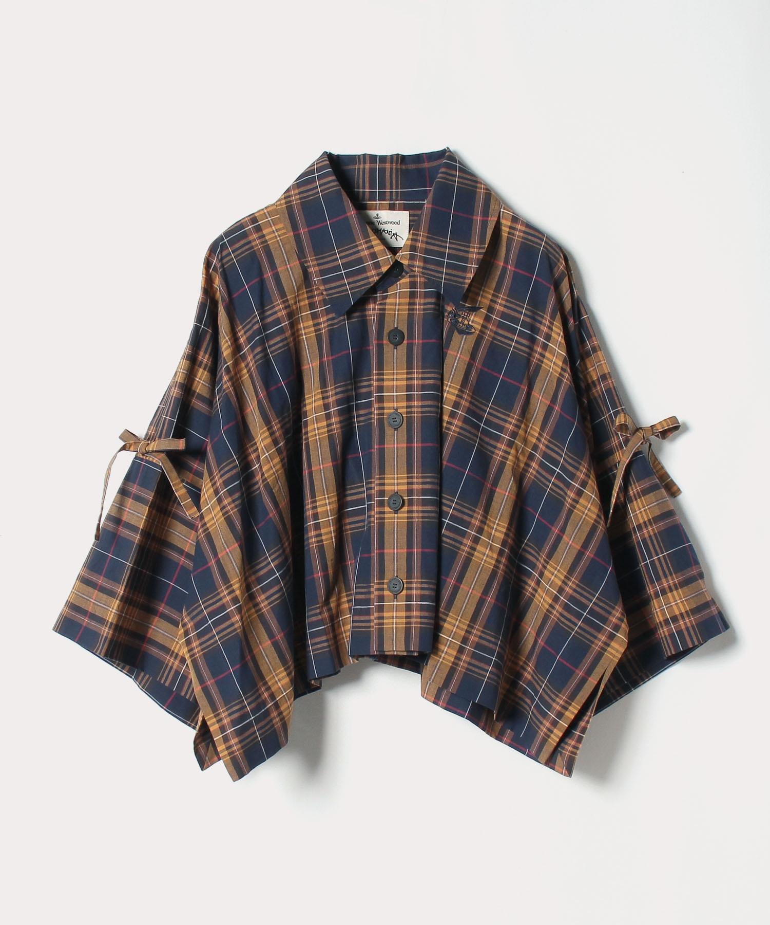 チェック オーバーサイズシャツ
