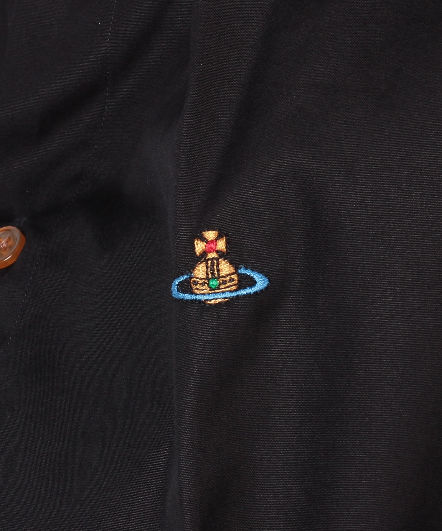 BASIC ラウンドカラーシャツ