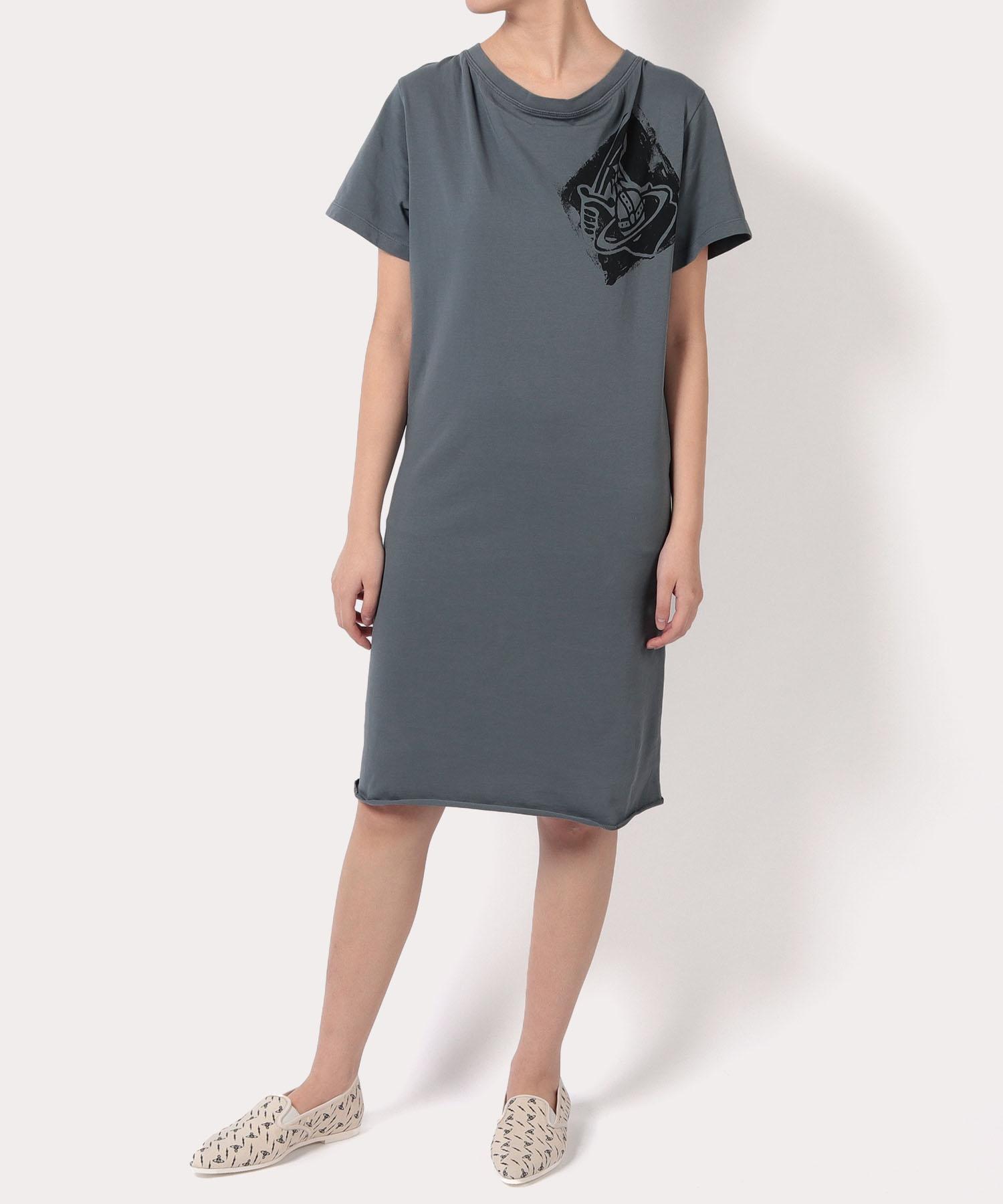 ARM&CUTLASS Tシャツワンピース