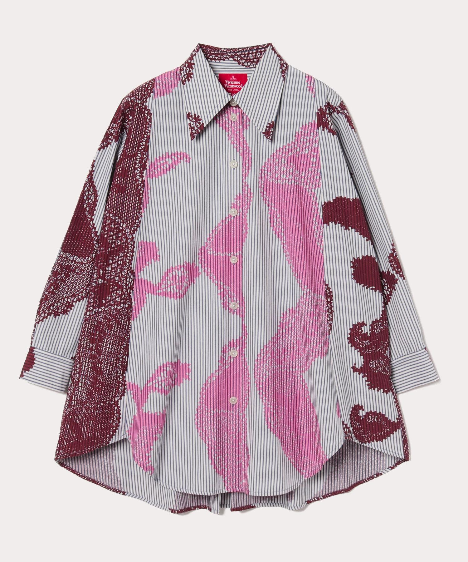 シングルレース オーバーサイズシャツ
